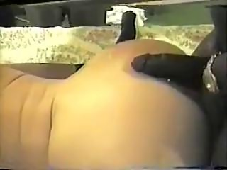 Brunette wife's hotel party