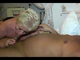 Granny Cuckold With her New Boyfriend