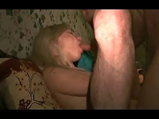 Blonde cheating wife anal in the dark